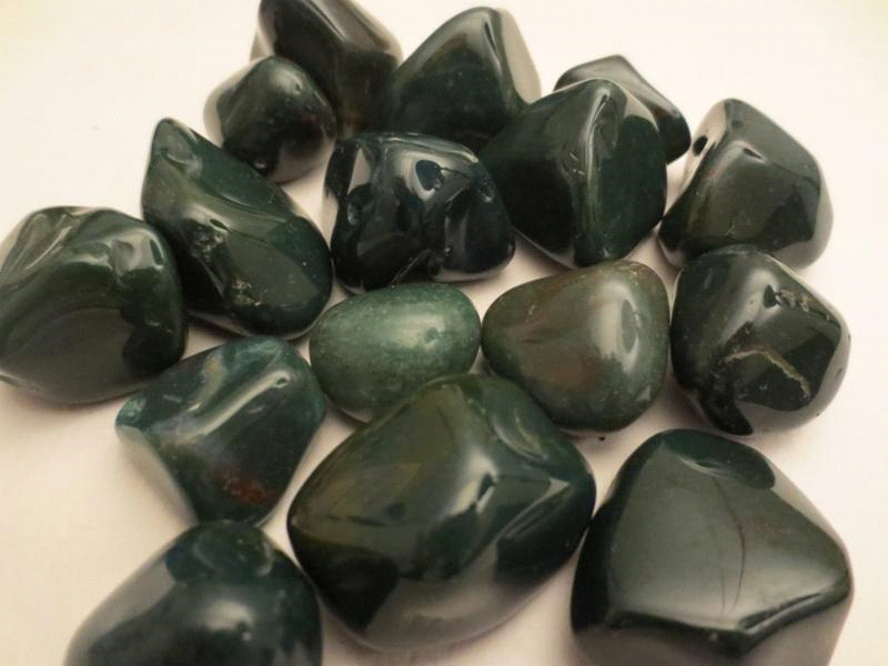 Rock of the Month -Bloodstone